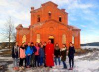Народный хореографический ансамбль «Слюдиночка» посетил собор